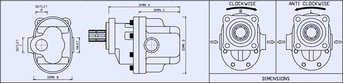 GPM Gear Pump Design Drawing