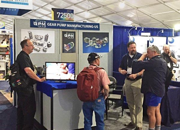 Gearpump Manufacturing (GPM) en Conexpo, Las Vegas