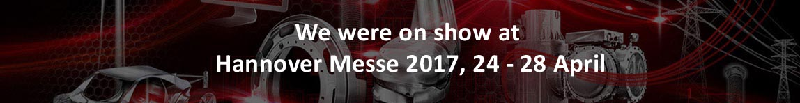 We were on show at Hannover Messe