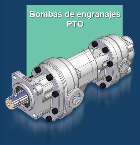 GPM Gama de Bomba de Engranajes PTO