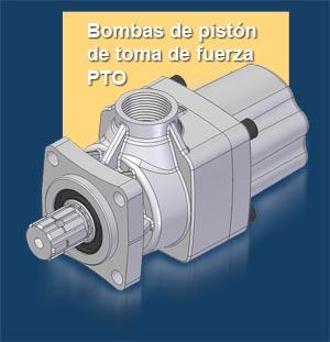 Bomba de pistón de toma de fuerza PTO GPM