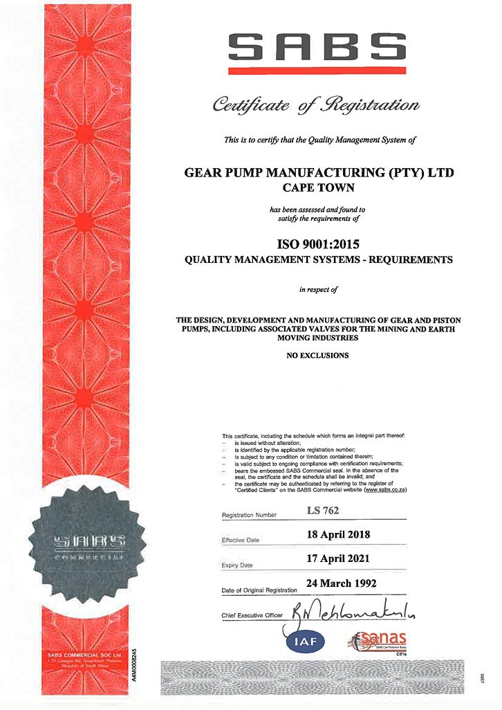 Gear Pump Manufacturing ISO 9001-2015 Certificate.jpg